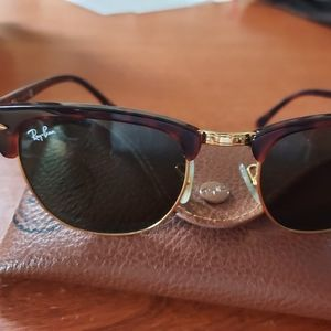 Classic Ray-Ban Clubmaster women's sunglasses